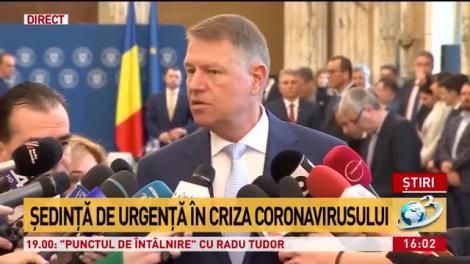 """Klaus Iohannis, demitizează """"virusul ucigaș"""": Noi avem noroc, cei infectați de coronavirus sunt în stare bună!"""