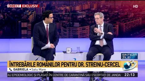 Adrian Streinu-Cercel spune că spirtul medicinal nu este un dezinfectant eficient pentru coronavirus