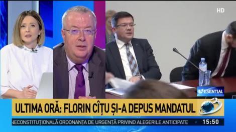 Analist politic: Florin Cîțu a fost forțat de Ludovic Orban să-și depună mandatul