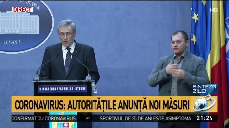 Autoritățile anunță noi măsuri. Puncte de trecere închise în România