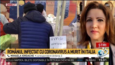 Primul român mort de coronavirus