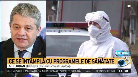 """Florian Bodog, atac dur la Ministrul Sănătății """"Nu este permis, domnule Costache"""""""