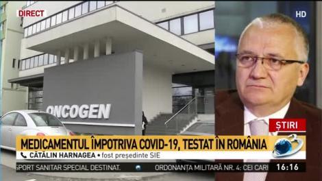 Medicament inovativ împotriva coronavirus, testat în România. Fost președinte SIE: Rezultatele au fost foarte bune pentru cazurile extreme