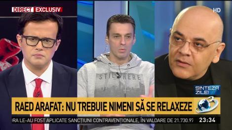 """Raed Arafat, apel către români după ce s-a aflat că stare de urgență va fi prelungită: """"Urmează o perioadă grea. Este imposibil să relaxăm măsurile acum!"""""""