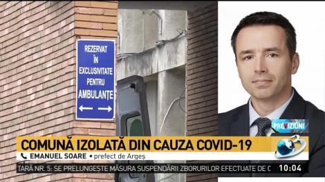 """Focar de coronavirus în Argeș, după o înmormântare. Prefect: """"Oamenii s-au infectat unii de la alții, după ce au mers să aprindă o lumânare"""""""
