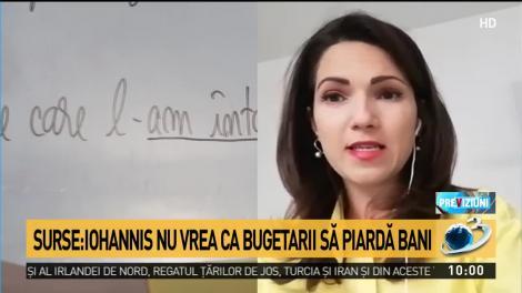 Iohannis intervine în scandalul tăierii salariilor