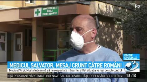 Medicul român care a vindecat cei mai mulți pacienți cu COVID-19, avertisment care dă fiori reci