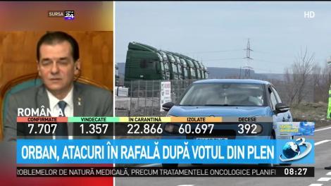 Ludovic Orban lansează atacuri în rafală după votul din plen