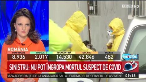 """Stau cu mortul de COVID în casă pentru că testul """"încă nu este gata"""". Situația din România care dă fiori reci: """"din păcate trebuie respectate procedurilei"""""""