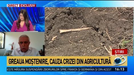 Oros, atacat dur pentru gestionarea crizei din agricultură.