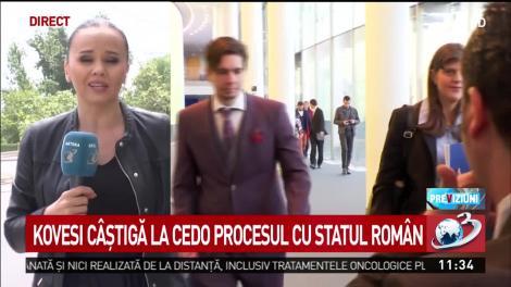 Kovesi câştigă la CEDO procesul cu statul român