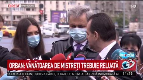 Ludovic Orban: Am hotărât că sunt permise și deplasările în afara localității