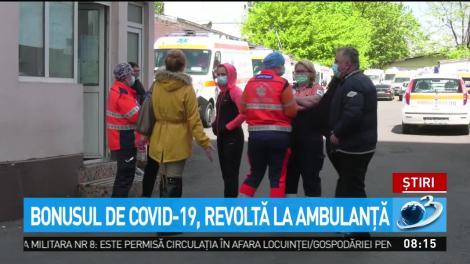 Bonusul de COVID-19, motiv de revoltă la Ambulanţa Constanţa