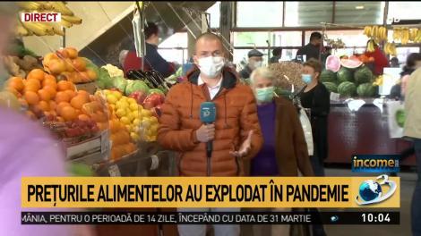 Preţurile alimentelor au explodat în pandemie