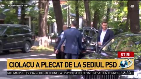 Marcel Ciolacu, președintele interimar PSD, la un pas de leșin în timpul conferinței de presă