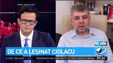 Adevăratul motiv pentru care a leșinat Marcel Ciolacu, la o conferință de presă. Ce au descoperit medicii