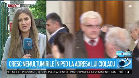 Cresc nemulţumirile în PSD la adresa lui Ciolacu