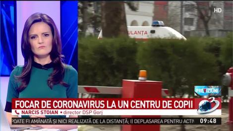 """Focar de coronavirus la un centru pentru copii cu dizabilități: """"O fetiță a făcut febră. E paralizată"""""""