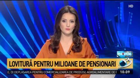 """Lovitură pentru milioane de pensionari. Majorarea punctului de pensie ar putea fi mult mai mică decât s-a anunțat: """"Iau în calcul acest scenariu"""""""