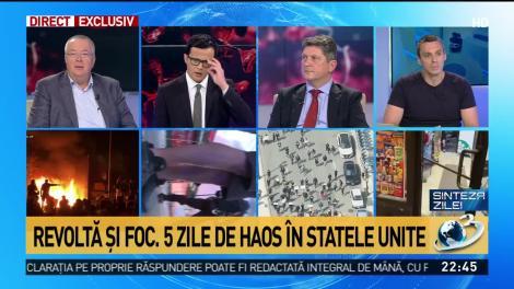 Mircea Badea, despre protestele din SUA: Cred că e multă frustrare şi o ură faţă de tot ce înseamnă establishment