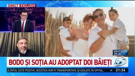 Bodo, mărturisiri extrem de emoționante! Fostul ginere a lui Băsescu a adoptat doi copii!  Video