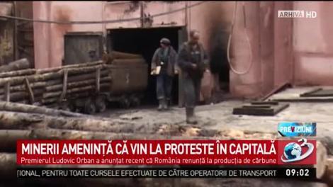 """Minerii se pregătesc să vină la proteste, în București. Declarația premierului Ludovic Orban a stârnit revoltă: """"Sărăcie maximă"""""""