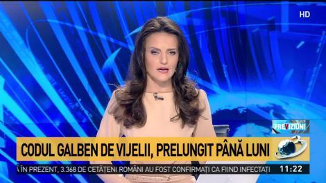 """România, lovită de furtuni violentă și bucăți mari de gheață. Oamenii, avertizați prin RO-ALERT să rămână în case: """"Vremea extremă a făcut ravagii!"""""""