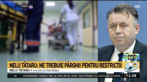 """Nelu Tătaru, mesaj alarmant pentru români! """"Numărul de cazuri va mai crește! Pentru că s-a trăit acea senzație de libertate"""""""