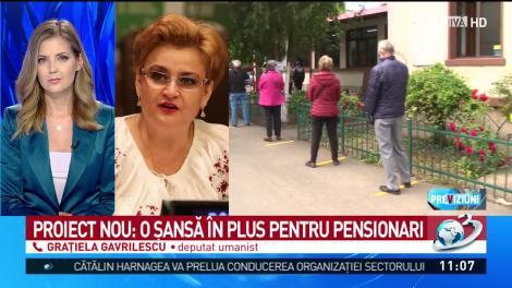 Proiect nou: O şansă în plus pentru pensionari