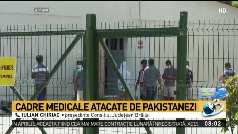 """Cadre medicale agresate, la Brăila! Muncitorii pakinstanezi au distrus spitalul în care sunt internați: """"Probabil se simt foarte bine!"""""""