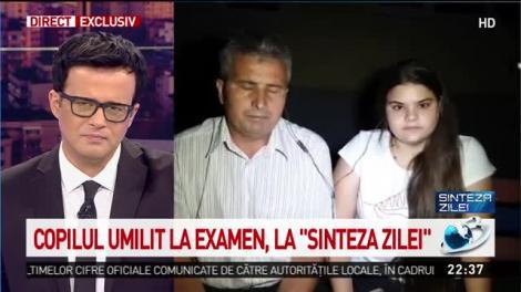 """Cristina, o elevă de 10, umilită la Evaluarea Națională! Copila a cedat, chiar în curtea școlii: """"Mă furnicau foarte tare mâinile, tremuram și nu îmi puteam controla bărbia"""""""
