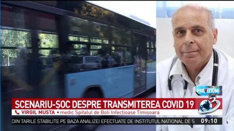 """Ce spune dr. Virgil Musta despre transmiterea coronavirusului prin aer: """"Riscăm să ne contaminăm. Avem nevoie de măsuri sporite, ca să nu ne întoarcem la carantină!"""""""