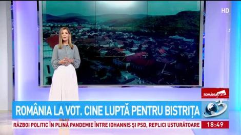 România la vot. Cine luptă pentru Bistriţa