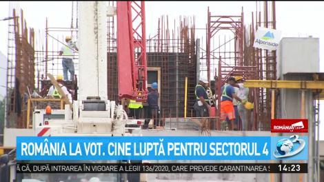 România la vot. Cine luptă pentru sectorul 4