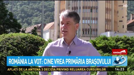 România la vot. Cine vrea Primăria Braşovului