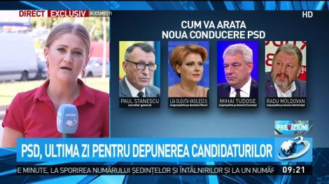 PSD, ultima zi pentru depunerea candidaturilor