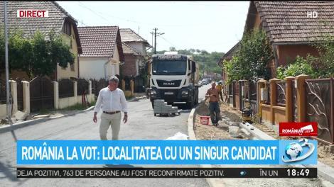 România la vot: Localitatea cu un singur candidat