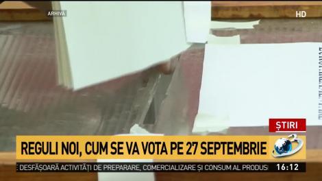 Cum vor vota românii pe 27 septembrie. Măsurile de siguranţă sanitară pe care alegătorii trebuie să le respecte