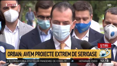 """Orban: """"După cum bine știți, sunt legat profund de București"""""""