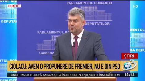 DOCUMENT. Textul integral al moțiunii de cenzură depusă de PSD împotriva Guvernului Orban