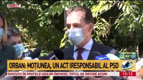 """Ludovic Orban, decizie de ultimă oră după ce numărul de bolnavi de la terapie intensivă a explodat: """"Vom crește numărul de paturi de la ATI!"""""""
