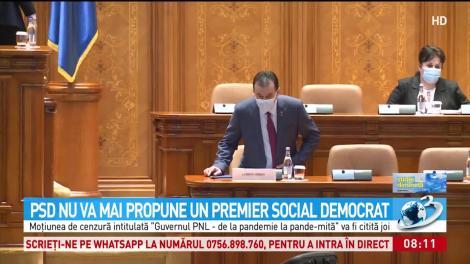 PSD nu mai mai propune un premier social democrat