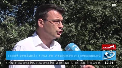 România la vot. Luptă strânsă la Galaţi, candidaţi cu experienţă