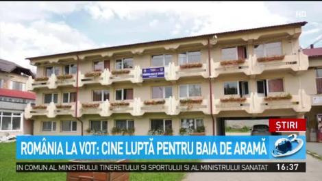 România la vot. Cine luptă pentru Baia de Aramă