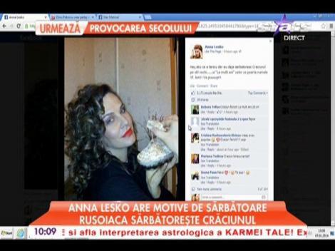 Anna Lesko are motive de sărbătoare