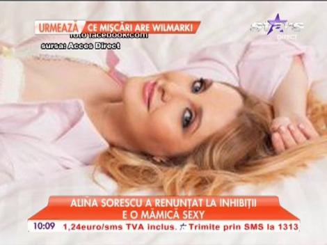 Alina Sorescu a renunţat la inhibiţii