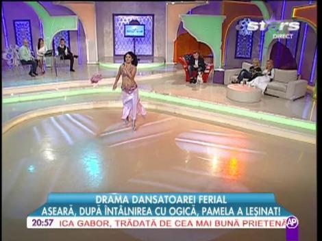 Dansatoarea exotică Ferial, dans din buric