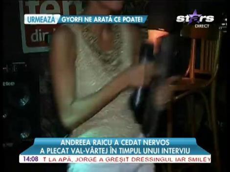 Andreea Raicu, irascibilă când vine vorba de foştii ei iubiţi