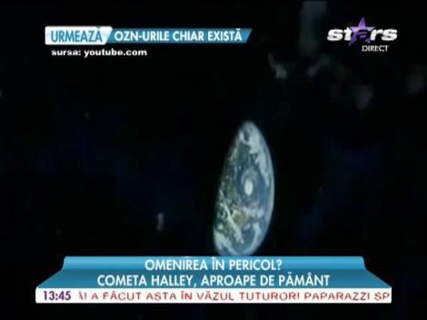 Cometa Halley, aproape de Pământ