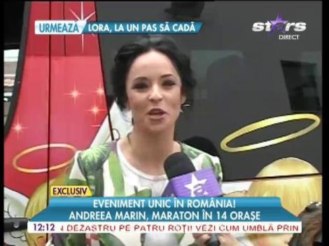 """Andreea Marin începe campania """"Preţuieşte Viaţa"""""""